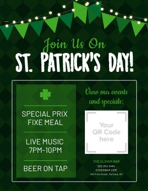 St Patricks Day Announcement