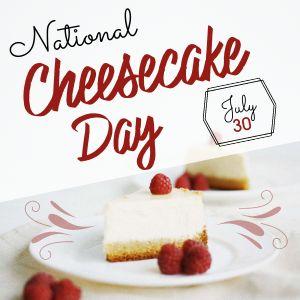 Cheesecake Instagram Update
