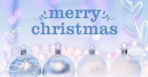 White Christmas Facebook Post