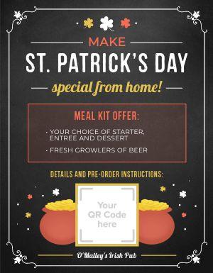 St Patricks Day Promo