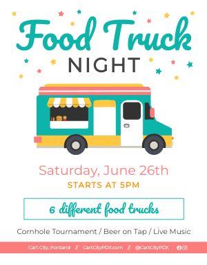 Food Truck Night Flyer