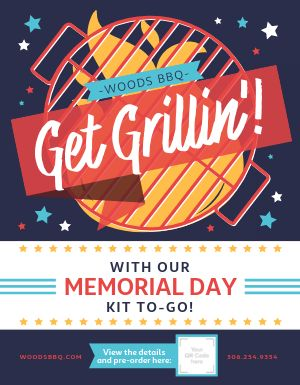 Memorial Day Meal Kit Flyer