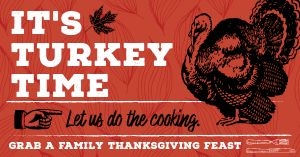 Turkey Dinner Facebook Post