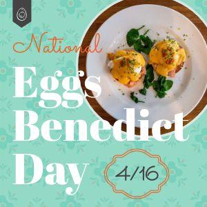 Eggs Benedict Instagram Update