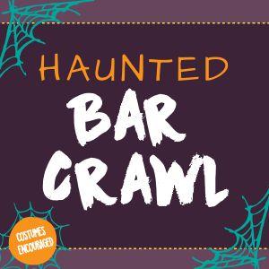 Haunted Bar Crawl Instagram Post