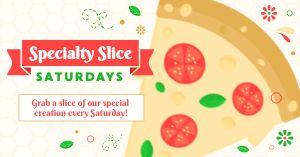 Specialty Pizza Facebook Post