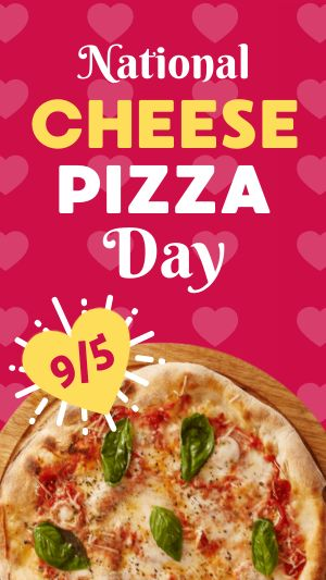 Cheese Pizza Facebook Story