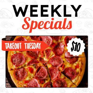 Pizza Specials Instagram Update