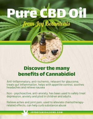 Cannabidiol Flyer