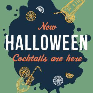 Halloween Cocktail Instagram Update