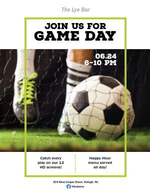 Soccer Season Flyer