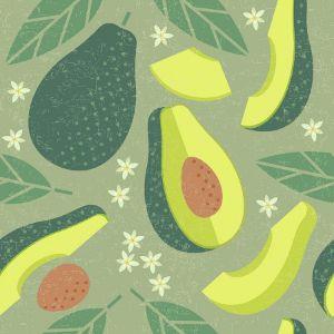 Avocado Fresh Cafe Business Card