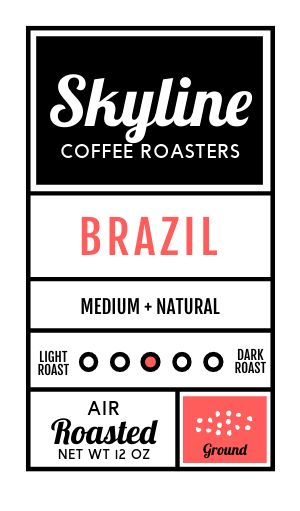 Coffee Product Sticker