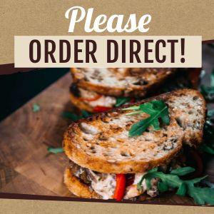 Please Order Direct Instagram Post