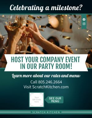 Company Event Flyer