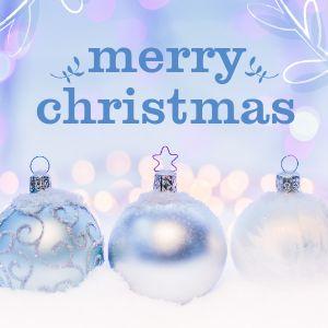 White Christmas Instagram Post