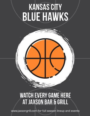 Basketball Season Flyer
