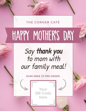 Happy Mothers Day Flyer