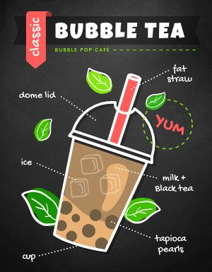 Bubble Tea Flyer