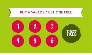 Garden Salad Loyalty Card