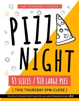 Pizza Night Signage