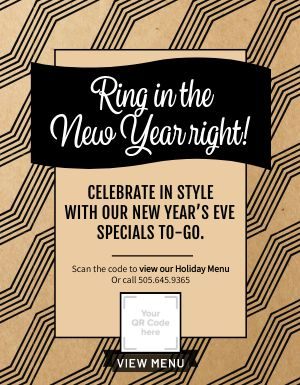 New Years Specials Flyer