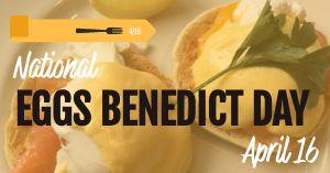 Eggs Benedict FB Post