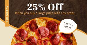 Pizza Specials FB Post