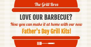 BBQ Fathers Day Facebook Post
