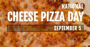 Cheese Pizza Facebook Update