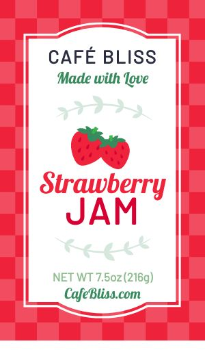 Cafe Jam Label
