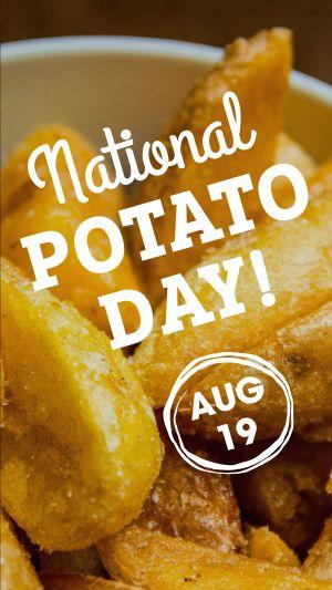 Potato Facebook Story