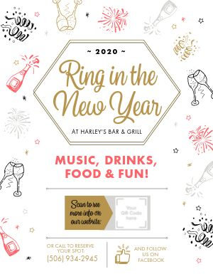 NYE Event Flyer