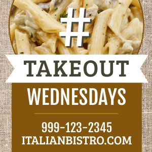 Takeout Wednesday Instagram Post