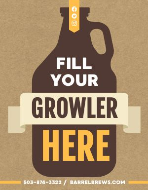 Growler Station Flyer