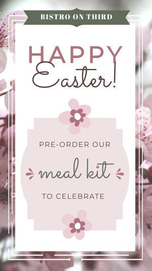 Easter Meal Kit Instagram Story