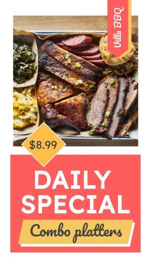 BBQ Specials FB Story