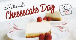 Cheesecake Facebook Update