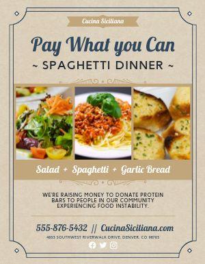 Spaghetti Sign