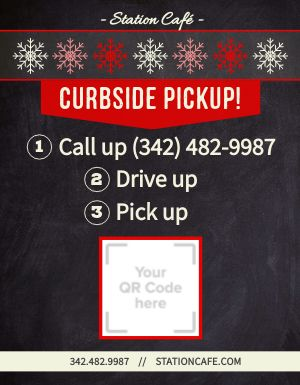 Seasonal Curbside Pickup Flyer