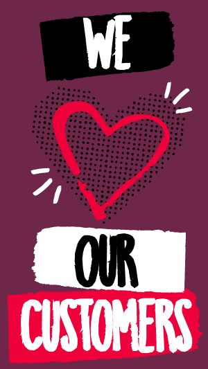 Heart Customers Facebook Story