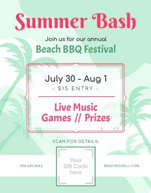 Summer Event Sign