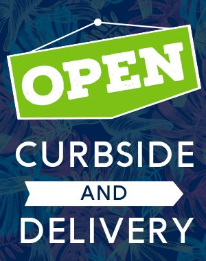 Open Curbside Sandwich Sign