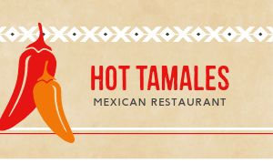 Tamales Business Card