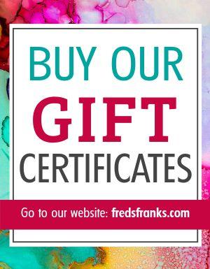 Gift Certificate Sales Flyer
