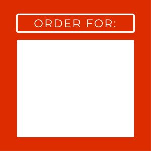 Order For Name Label