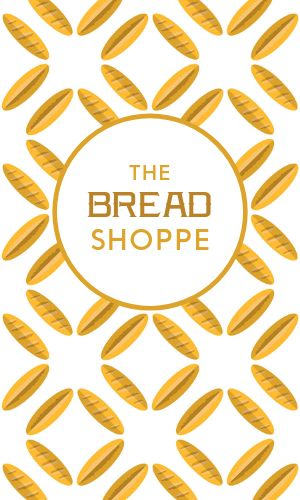 Bread Shoppe Business Card