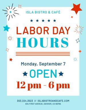 Labor Day Signage