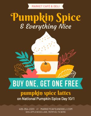 Pumpkin Spice Flyer