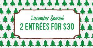 December Special Facebook Post